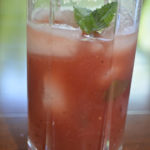 Watermelon Sun Tea: Math In The Kitchen