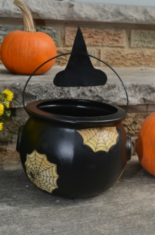 Outdoor Halloween Witch Decorations