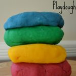 How to Make Colored Playdough
