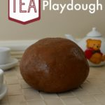 No Bake Tea Playdough