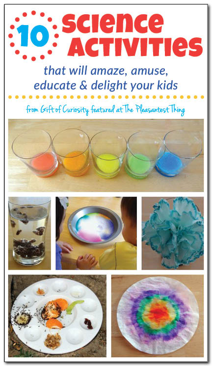 10 Science Activities That Will Amaze Your Kids! - Simple ...