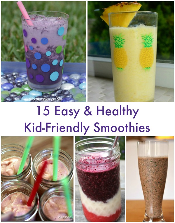 15 Kid-Friendly Smoothies - Simple Play Ideas