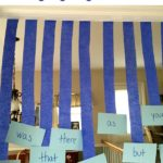 Sight Words Game: Hanging Sight Words