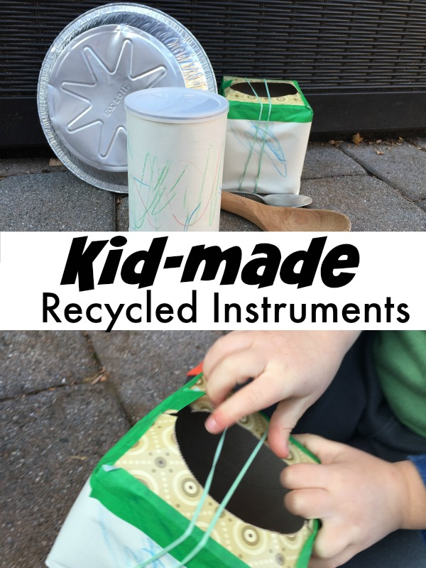 Musical Instruments From Recycling Kid Made Band