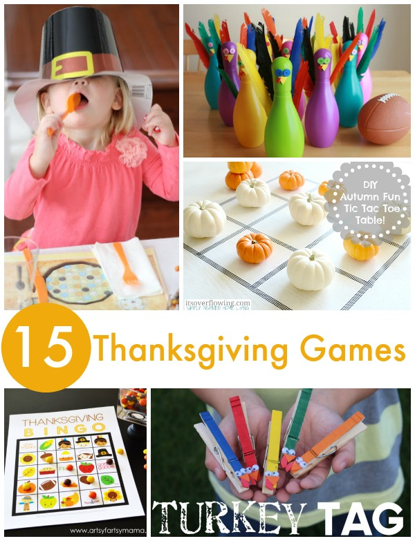 Thanksgiving games simple play ideas