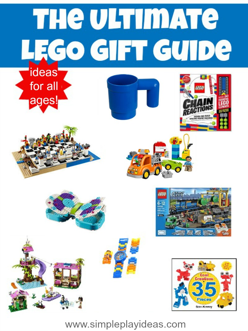 LEGO Gift Guide - Simple Play Ideas