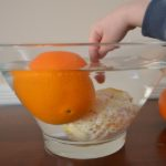 Orange Science Experiment for Kids