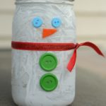 Snowman Mason Jar Craft