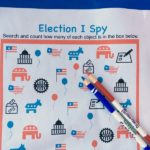 Election I Spy for Kids
